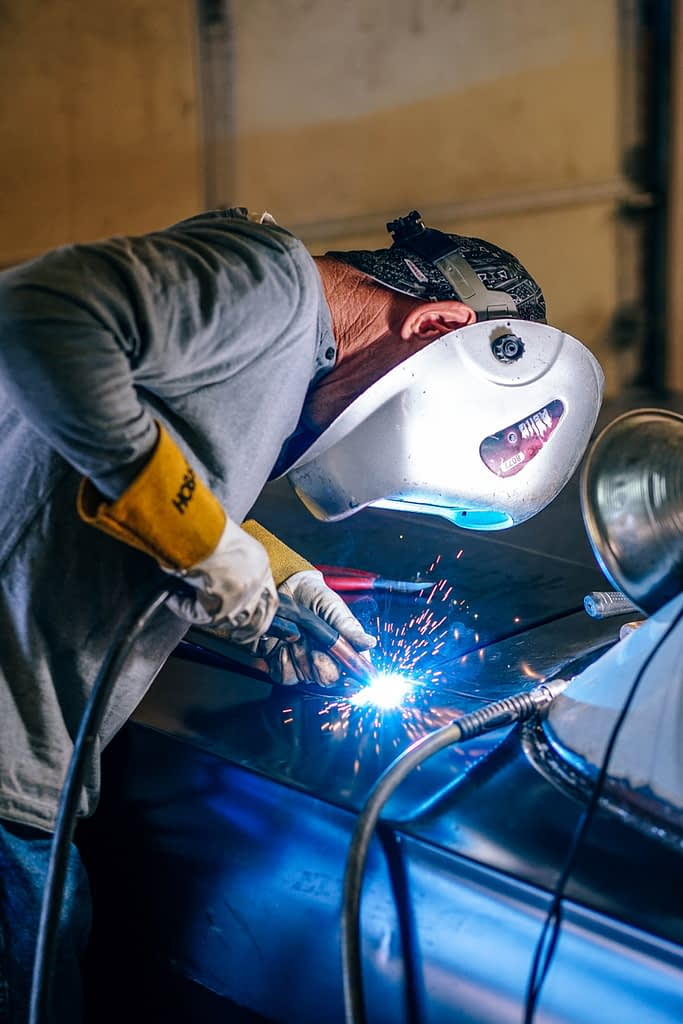 Welding and fitting